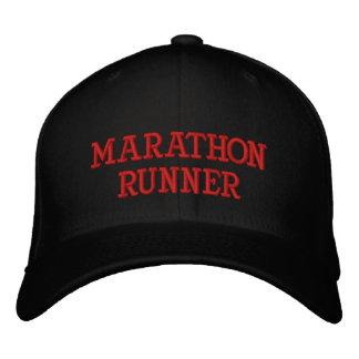 MARATHON RUNNER EMBROIDERED CAP
