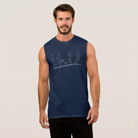 Marathon Runners Sleeveless Shirt
