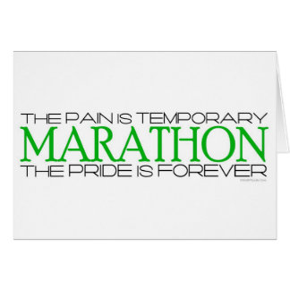 Marathon - The Pride is Forever – Best Of Luck Card