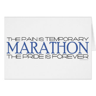 Marathon - The Pride is Forever - Best Of Luck Greeting Card