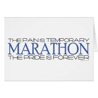 Marathon - The Pride is Forever – Congratulations Card