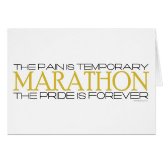 Marathon - The Pride is Forever – Congratulations Card