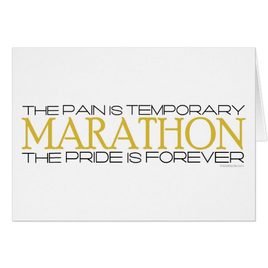 Marathon - The Pride is Forever – Congratulations