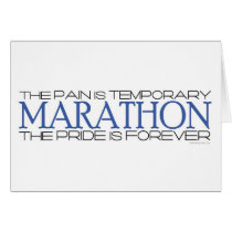 Marathon - The Pride is Forever – Good Luck Card