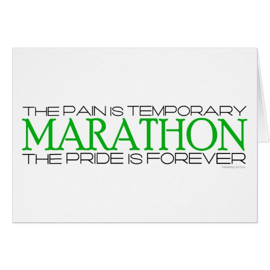 Marathon - The Pride is Forever – Good
