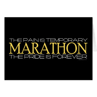 Marathon - The Pride is Forever Greeting Card