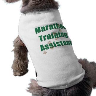 Marathon Training Assistant Sleeveless Dog Shirt