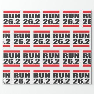 Marathon Wrapping Paper