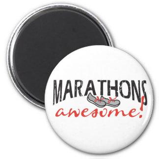 Marathons Awesome Magnet