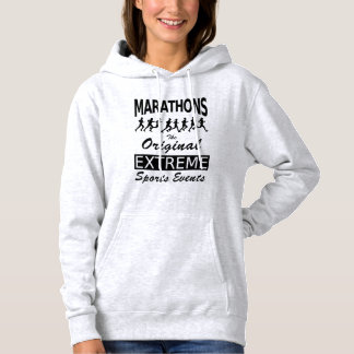 MARATHONS, the original extreme sports events Hoodie
