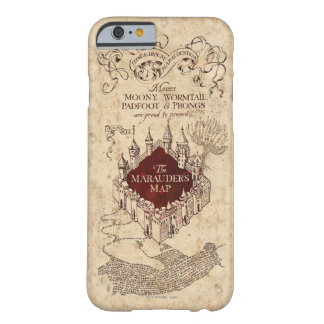 Marauder's Map Barely There iPhone 6 Case