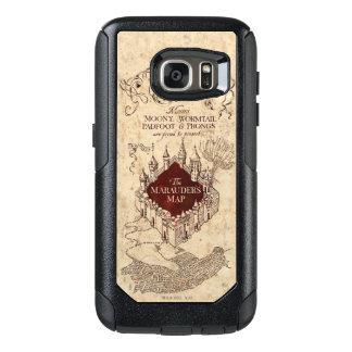 Marauder's Map OtterBox Samsung Galaxy S7 Case