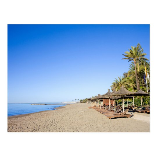 Marbella Beach and Sea on Costa del Sol