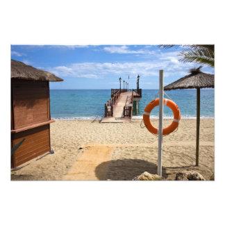 Marbella Beach in Spain Photo Print