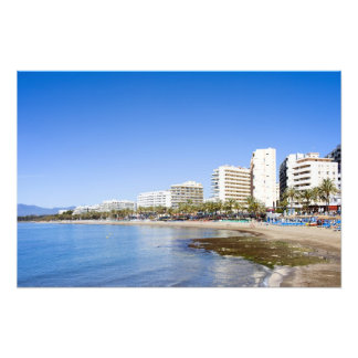 Marbella Vacation Resort in Spain Photo Print