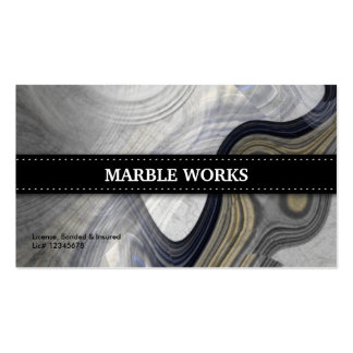 Marble Abstract Kitchen Remodeling Pack Of Standard Business Cards