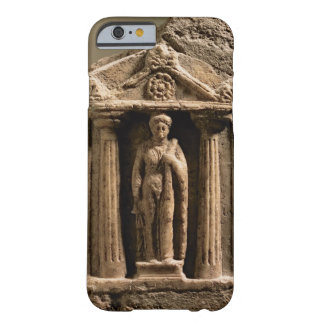 Marble and sandstone votive stele with female figu barely there iPhone 6 case