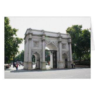 Marble Arch, London Card