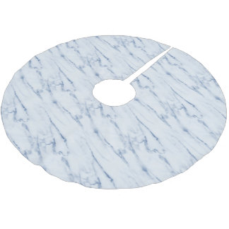 Marble background christmas tree skirt