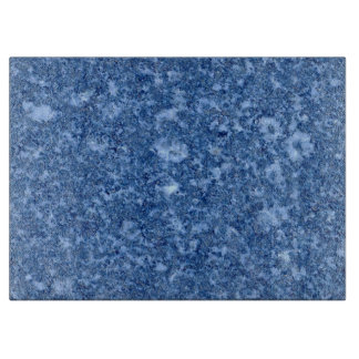 MARBLE BLUE CUTTING BOARD