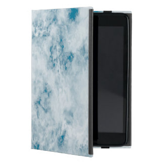 Marble Blue Texture Background Cases For iPad Mini