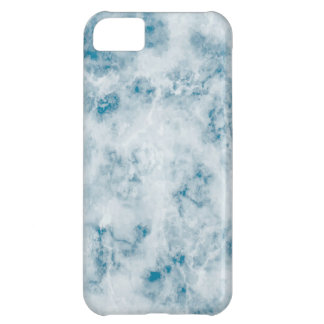 Marble Blue Texture Background iPhone 5C Case