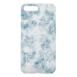 Marble Blue Texture Background iPhone 7 Plus Case