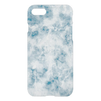 Marble Blue Texture Background iPhone 8/7 Case