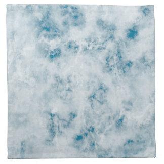 Marble Blue Texture Background Napkin