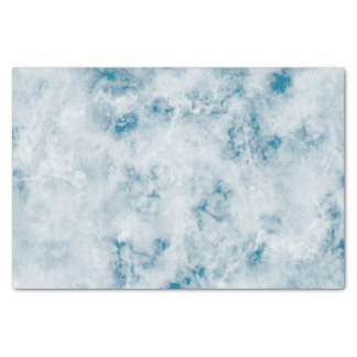 Marble Blue Texture Background Tissue Paper
