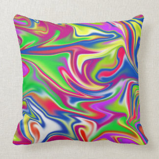 Marble Bubble Gum Candy, Throw Cushion