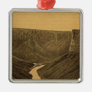 Marble Canon, Colorado River Christmas Ornament