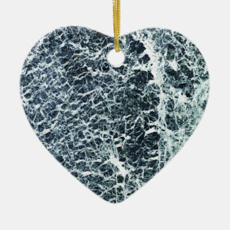 Marble Ceramic Heart Decoration