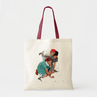 Marble Champion Budget Tote Bag