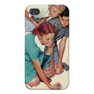 Marble Champion Cover For iPhone 4
