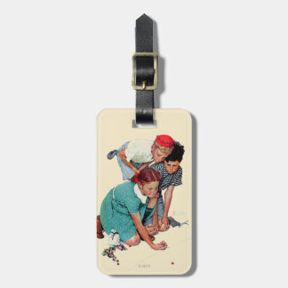 Marble Champion Luggage Tag