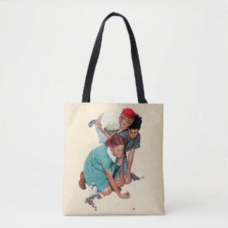 Marble Champion Tote Bag