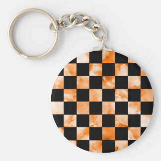 Marble Checkerboard Key Ring
