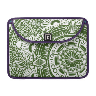 Marble circle laptop sleeve mandala bohemian art sleeves for MacBook pro