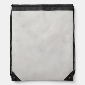 Marble Cream Background Grey Plaster Texture Drawstring Backpack