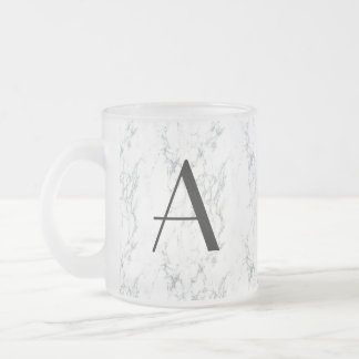 marble cup with A