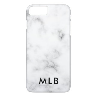 Marble Design iPhone Case Black and White