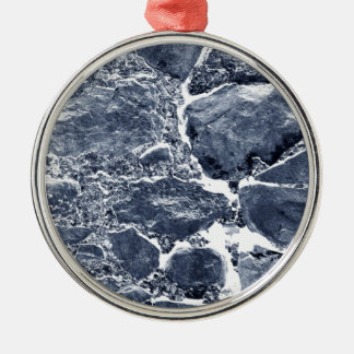 Marble effect christmas ornament