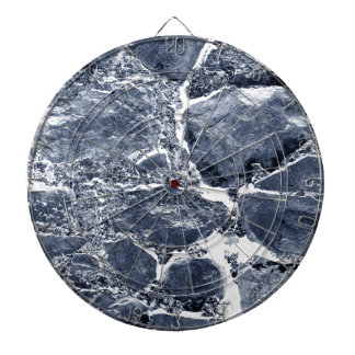 Marble effect dartboard