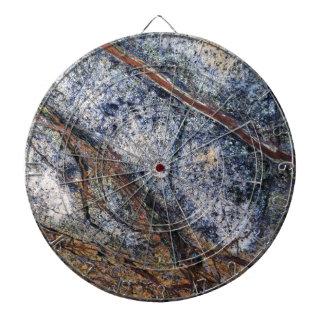 Marble effect design dartboard