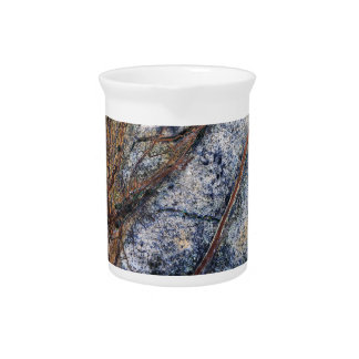 Marble effect design pitcher