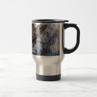 Marble effect design travel mug