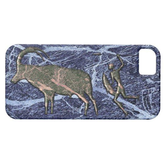 Marble effect Kalahari Bushmen IPhone case