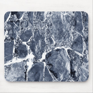 Marble effect mouse pad