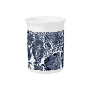 Marble effect pitcher